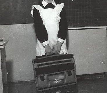 Советский школьный портфель