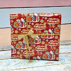 Подарочная упаковка с Дедом Морозом